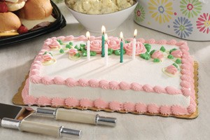 Photo of Pink Birthday Cake